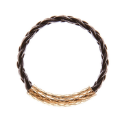 Image of Braided Leather Band Ring