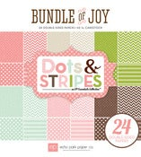 Image of Echo Park Paper- Bundle Of Joy DOTS AND STRIPES GIRL