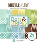 Image of Echo Park Paper- Bundle Of Joy DOTS AND STRIPES BOY