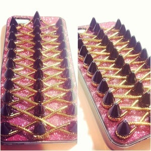 Image of Pink Bling Corset Case