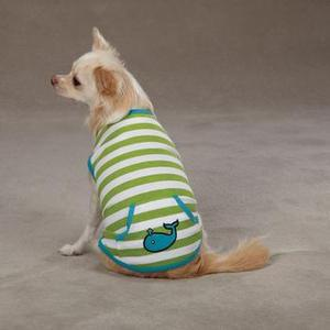 Image of Beachcomber Dog Tank by Zack & Zoey - Parrot Green