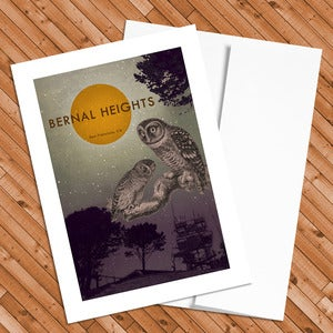 Image of Bernal Heights - 5x7 Postcard
