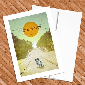 Image of Cole Valley - 5x7 Postcard