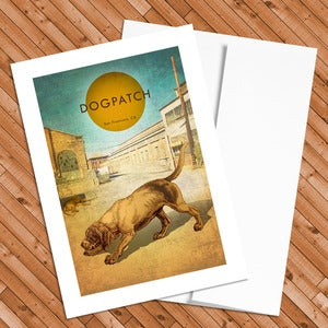 Image of Dogpatch - 5x7 Postcard