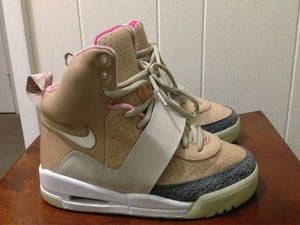 "Image of Nike Air Yeezy I ""Tan"""