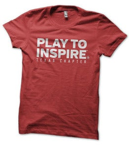 Image of Play to Inspire - Red