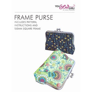 Image of You Sew Girl - 150mm Purse Frame Kit