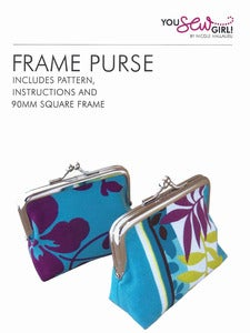 Image of You Sew Girl - 90mm Purse Frame Kit