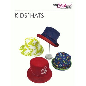 Image of You Sew Girl - Kids Hats Pattern