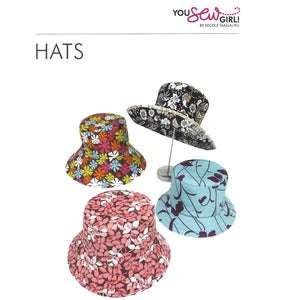 Image of You Sew Girl - Adults Hat Pattern