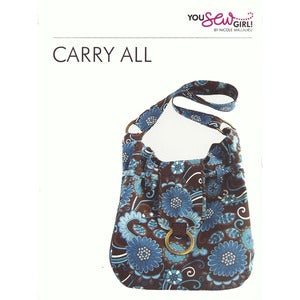 Image of You Sew Girl - Carry All Bag Pattern