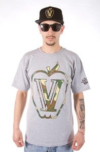 Image of CAMO  APPLE TEE GRAY