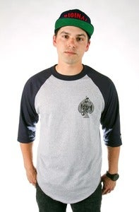 Image of ORIGINALS 3/4 SLEEVE - NAVY