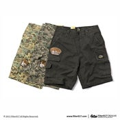 Image of Filter017 B.S.F. DESTROY WASH WORK SHORTS