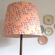 Image of Kanye x-large retro drum lampshade