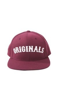 Image of ORIGINALS SNAPBACK - MAROON