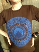 Image of Calendar Tee - Blue on Cola