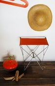 Image of tabouret en pliable en toile 