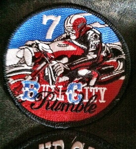 Image of Bull City Rumble 7 Rally Patch