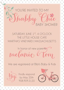 Image of Shabby Chic Invitation