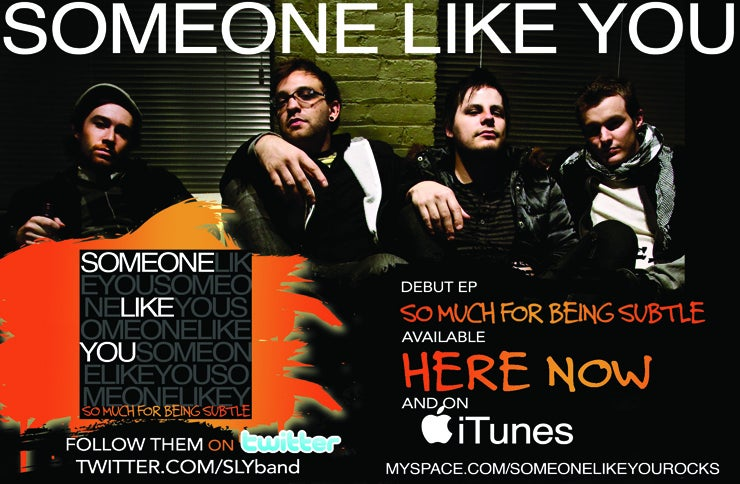 Someone Like You - So Much For Being Subtle