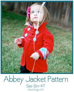 Image of Abbey Jacket Pattern Sizes 12m-4T